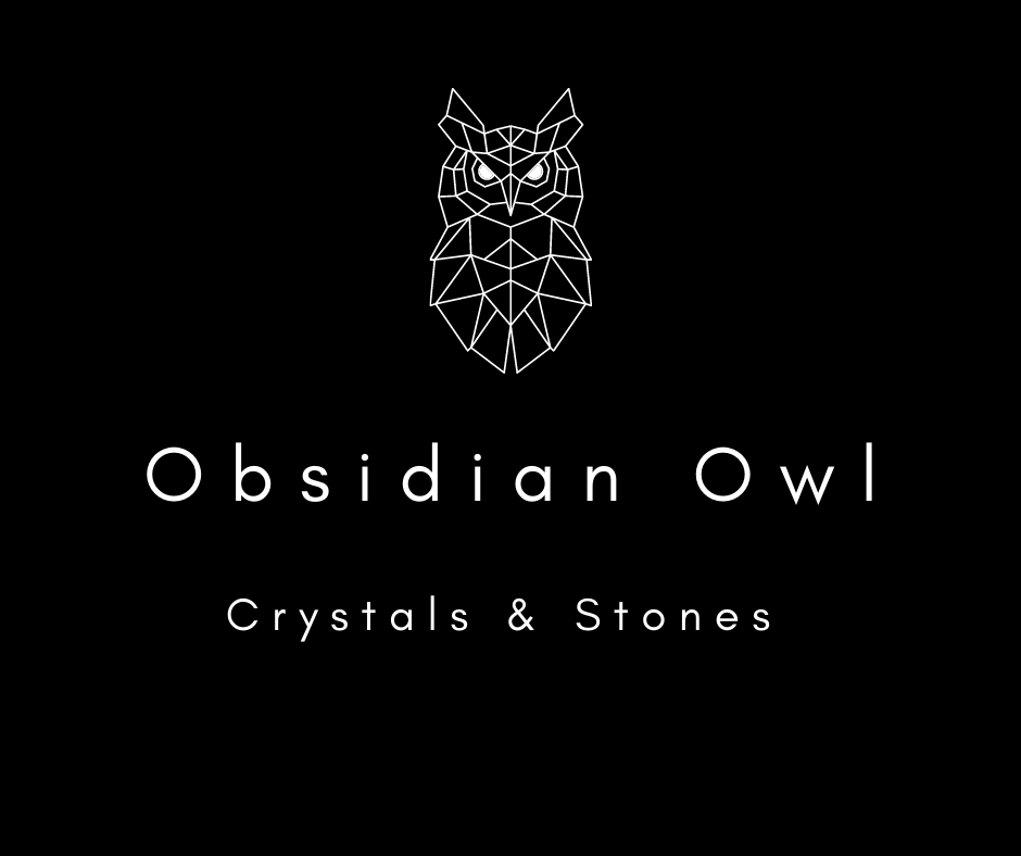Obsidian Owl: Crystals & Stones
