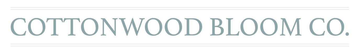 Cottonwood Bloom Co.